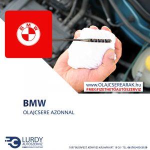 BMW Z8 (E 52) 2000-től olajcsere