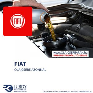 Fiat Ulysse 1.9 TD 1994-től 2001-ig olajcsere