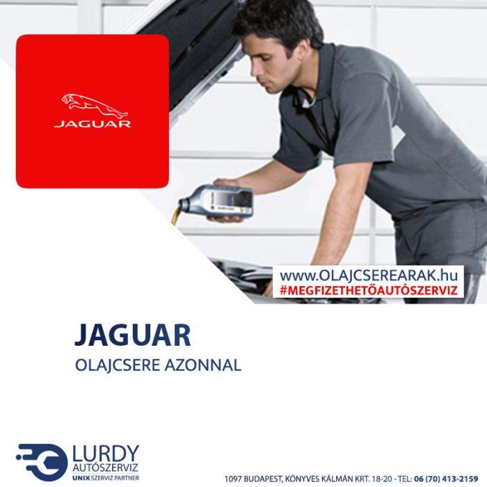 Jaguar X-Type 2.2D 2008-tól olajcsere