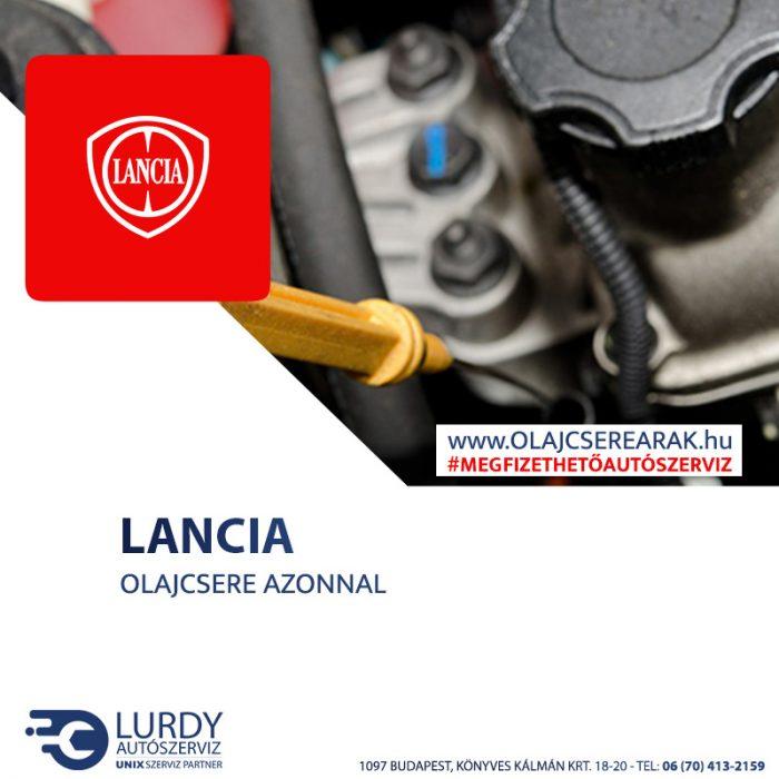 Lancia Zeta 2.0 16V 1999-től 2001-ig olajcsere