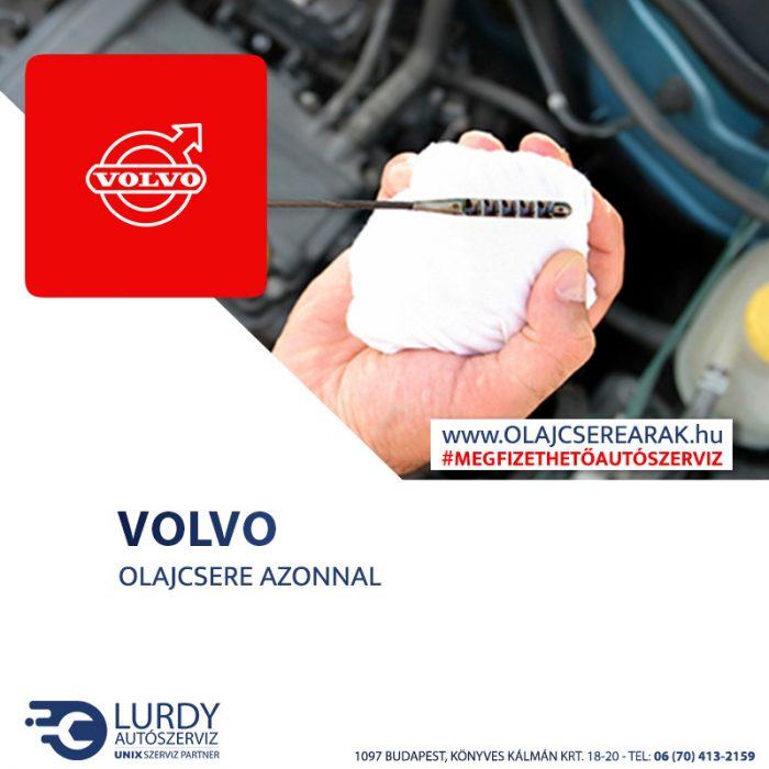 Volvo XC90 2.5T 2003-tól olajcsere